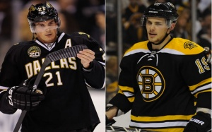 The Bruins and Stars agree to a major trade involving Loui Eriksson and Tyler Seguin. (Photo from CBSSports.com)