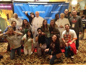 My new missionary friends at SEEK2015, who I met at FOCUS interview weekend in Dallas, Texas.