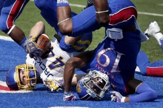 What's the problem with Kansasfootball?
